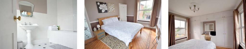 Bed and breakfast bedford guestroom